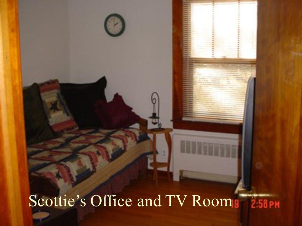 Scottie's Office and TV Room