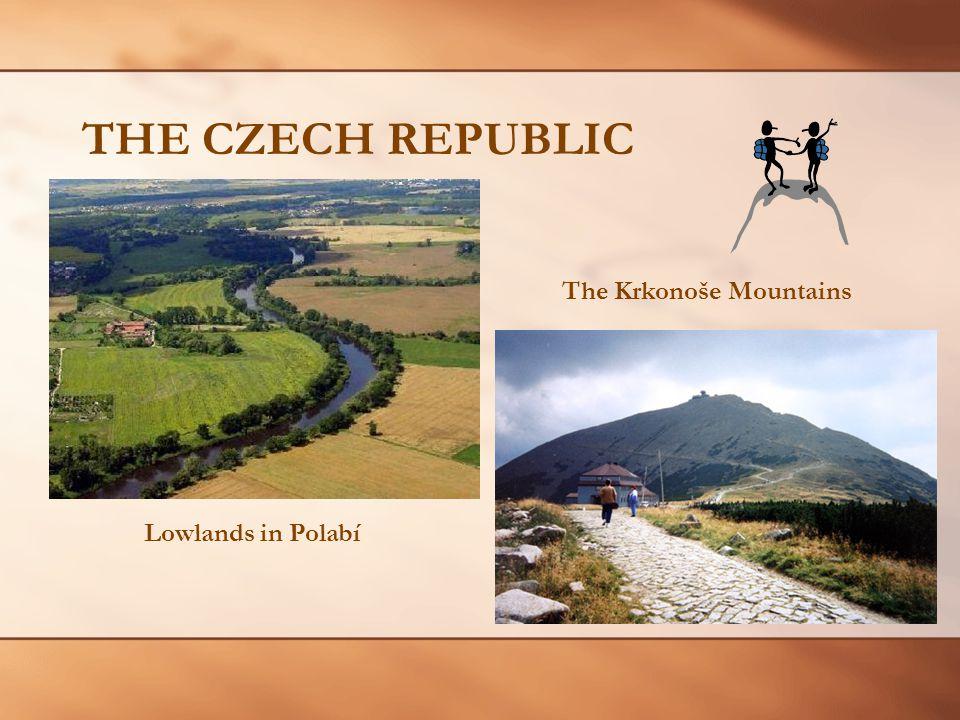 THE CZECH REPUBLIC Lowlands in Polabí The Krkonoše Mountains