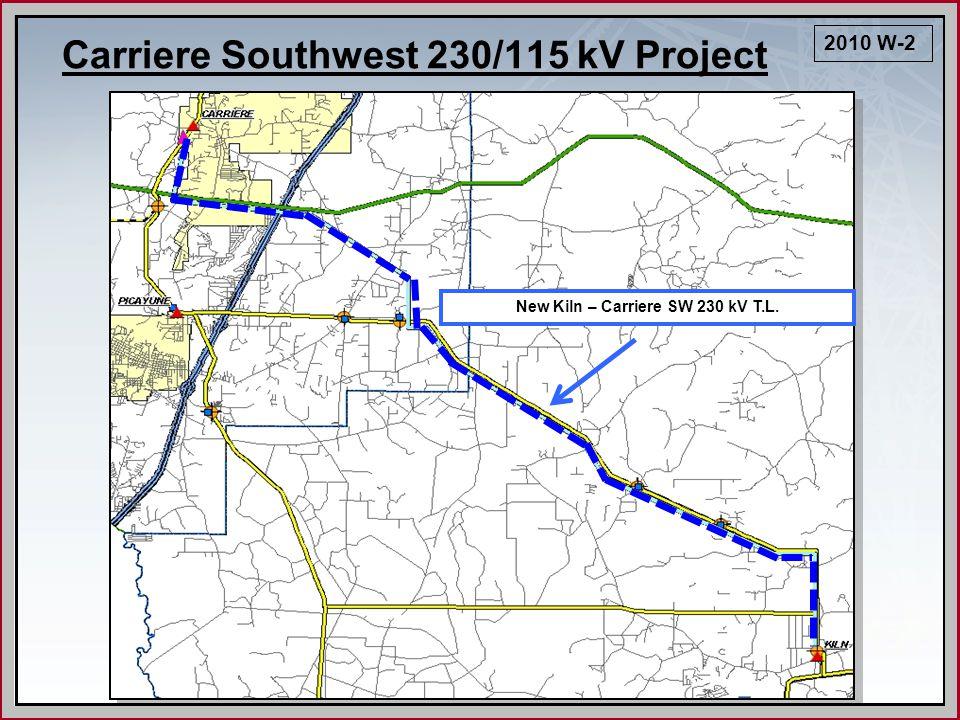 Rebuild Pinckard – Slocomb – Holmes Creek 115 kV TL (23 miles) Pinckard – Slocomb 115 kV T.L.