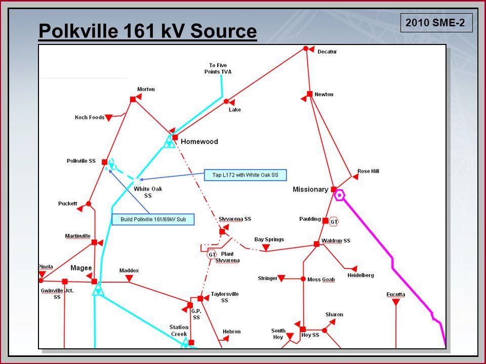 Polkville 161 kV Source 2010 SME-2