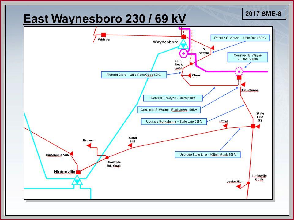 East Waynesboro 230 / 69 kV 2017 SME-8