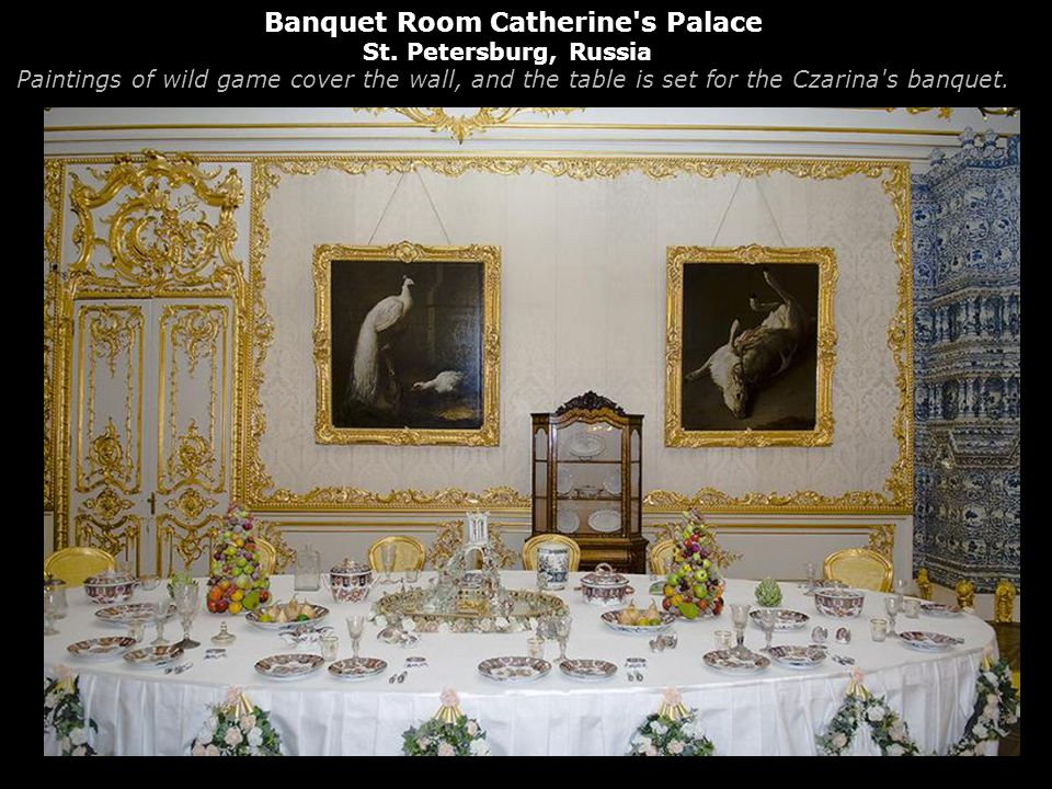 Banquet Room Catherine s Palace St.