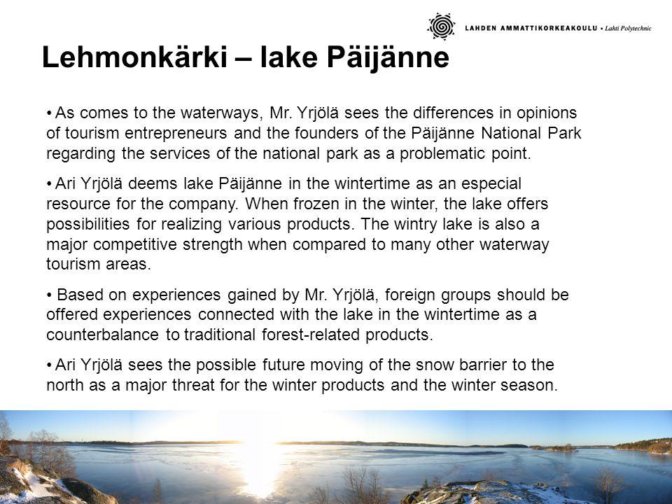 Lehmonkärki – lake Päijänne As comes to the waterways, Mr.