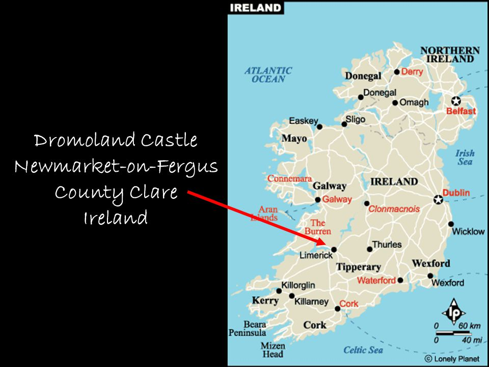 Map – Dromoland Castle Dromoland Castle Newmarket-on-Fergus County Clare Ireland