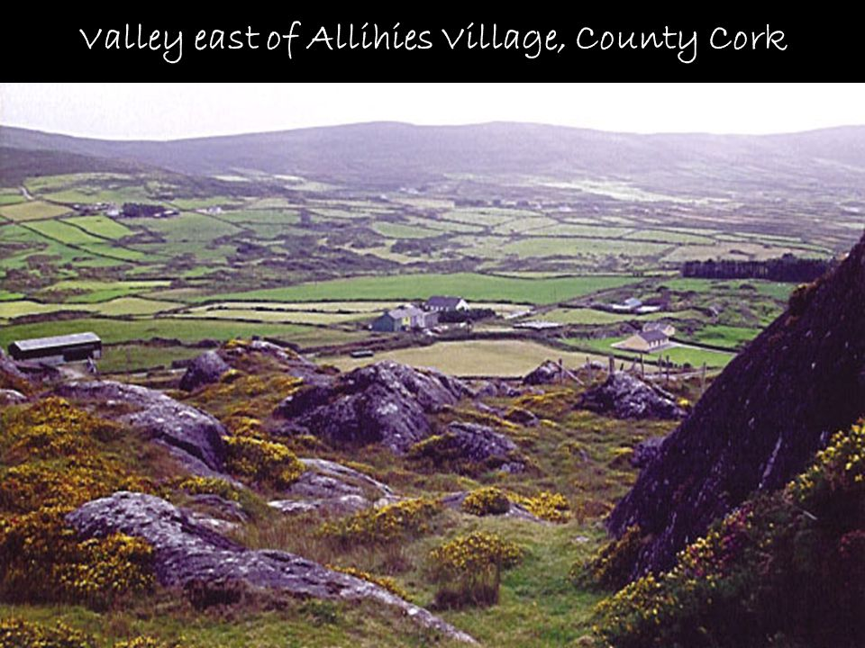 Valley east of Allihies Village, County Cork
