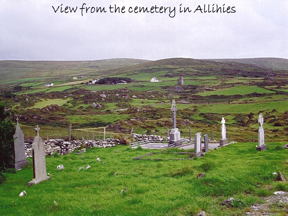 View from the cemetery in Allihies