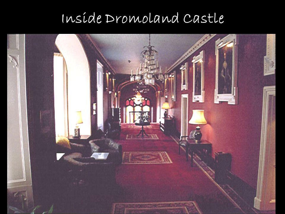 Inside Dromoland Castle