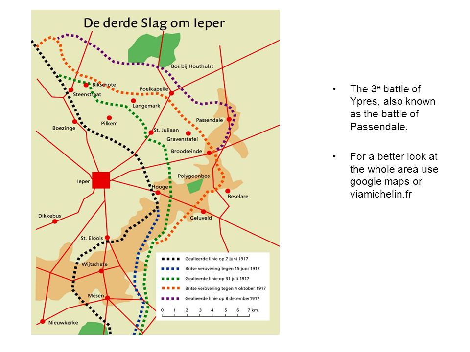 The 3 e battle of Ypres, also known as the battle of Passendale.