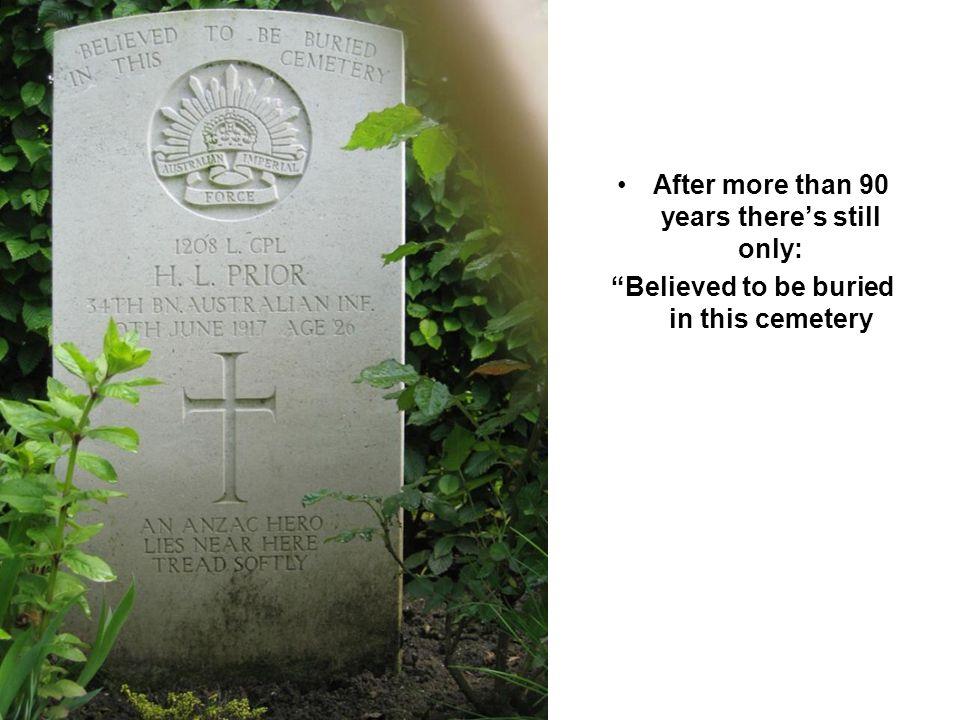 Langemarck soldatenfriedhof A large number also unidentified