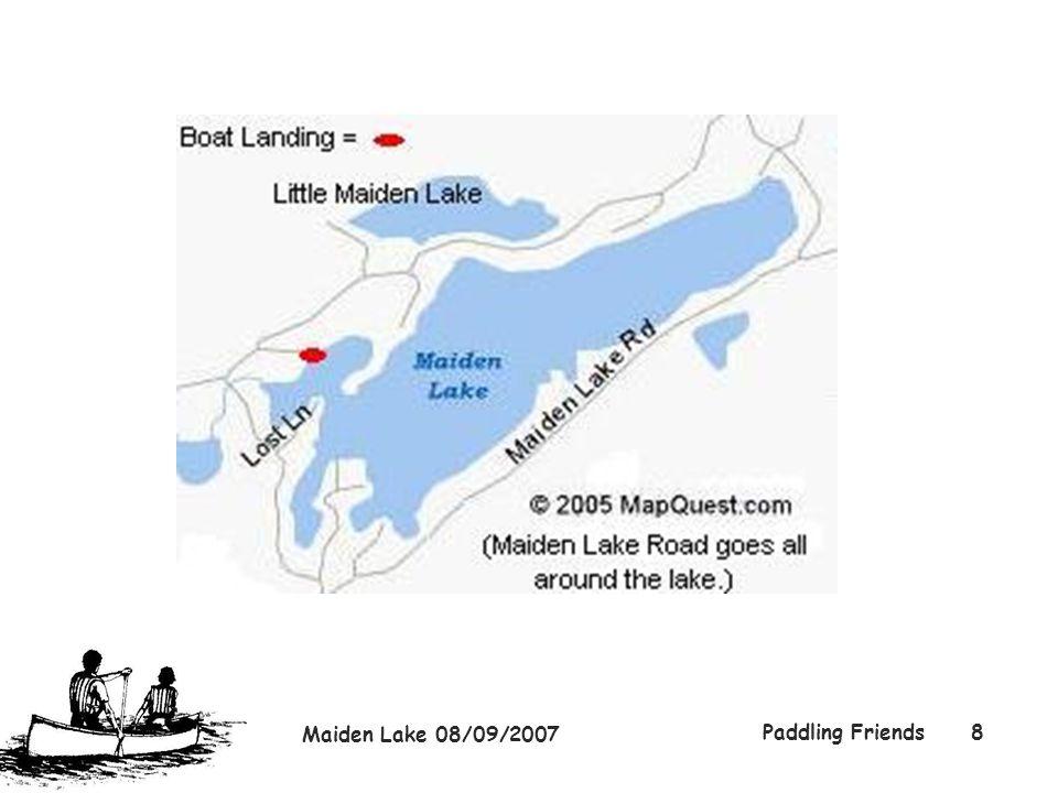 Maiden Lake 08/09/2007 Paddling Friends8