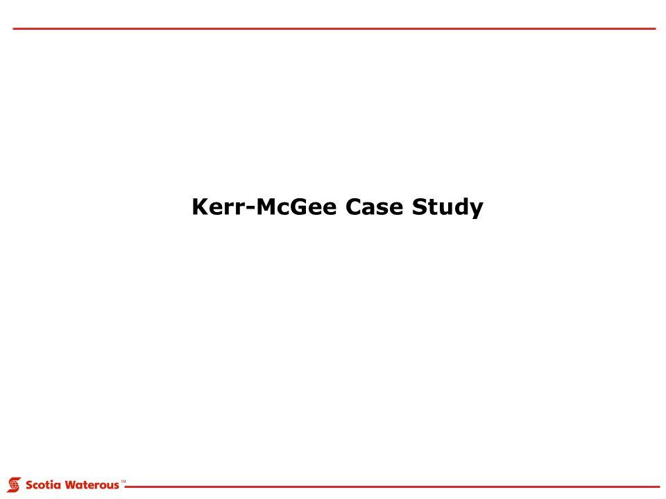 Kerr-McGee Case Study