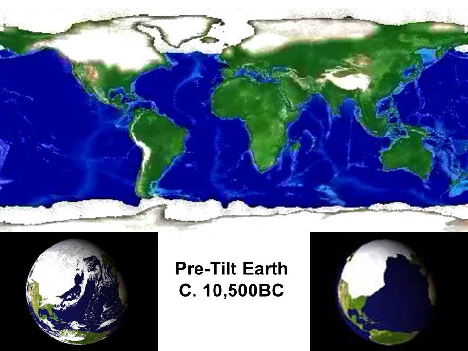 Pre-Tilt Earth C. 10,500BC