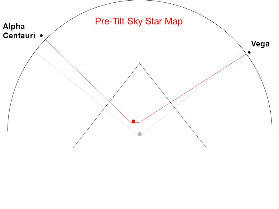 Pre-Tilt Sky Star Map Vega Alpha Centauri