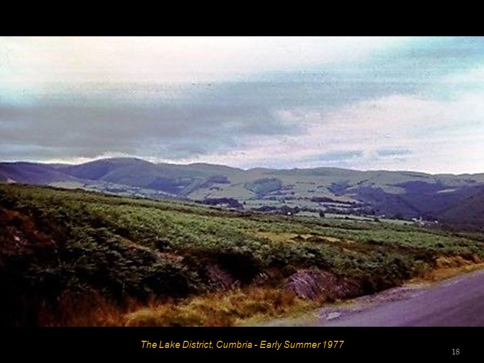 The Lake District, Cumbria - Early Summer 1977 17