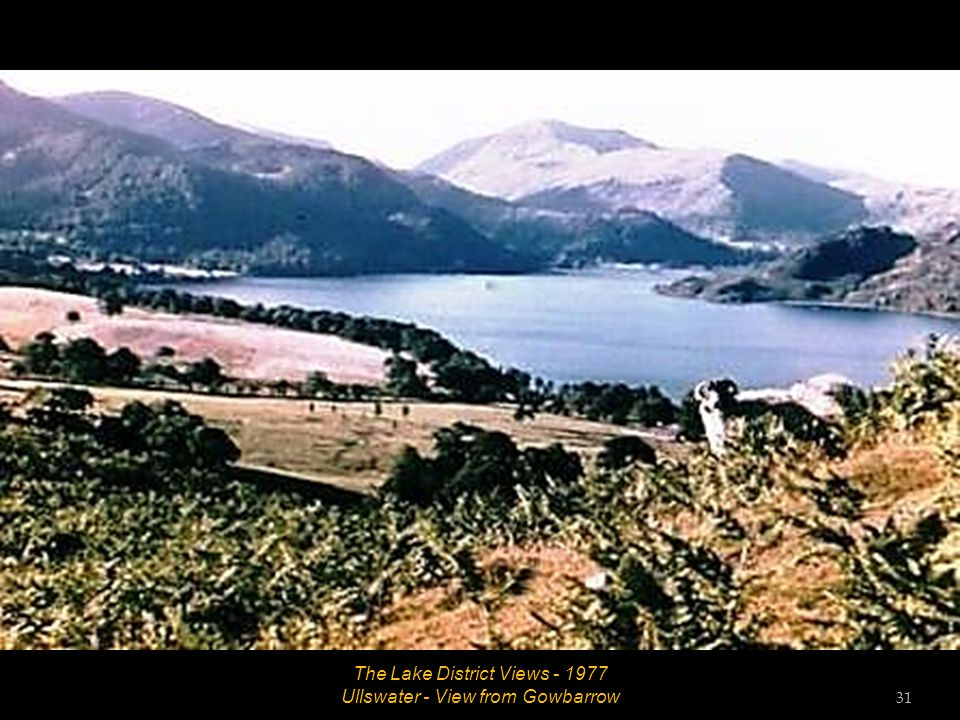 The Lake District Views – 1977 Aira Force with rainbow 30