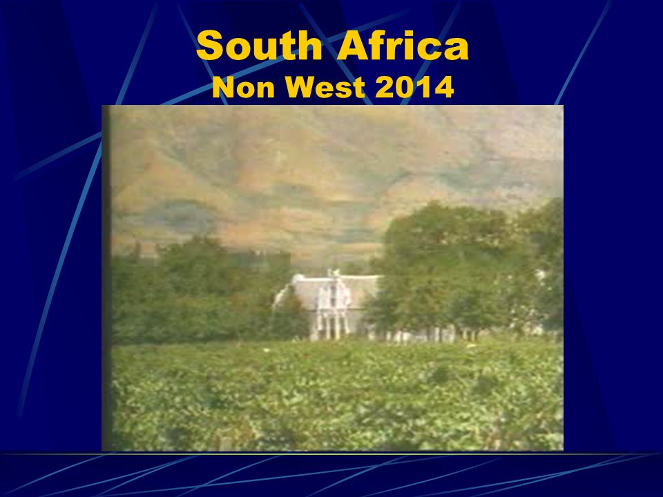 Black Township in South Africa 13% of South Africa s total area for almost 75% of its population!