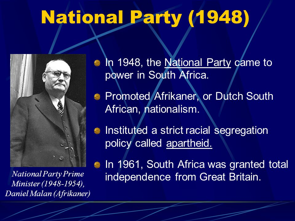Struggle For Democracy in South Africa