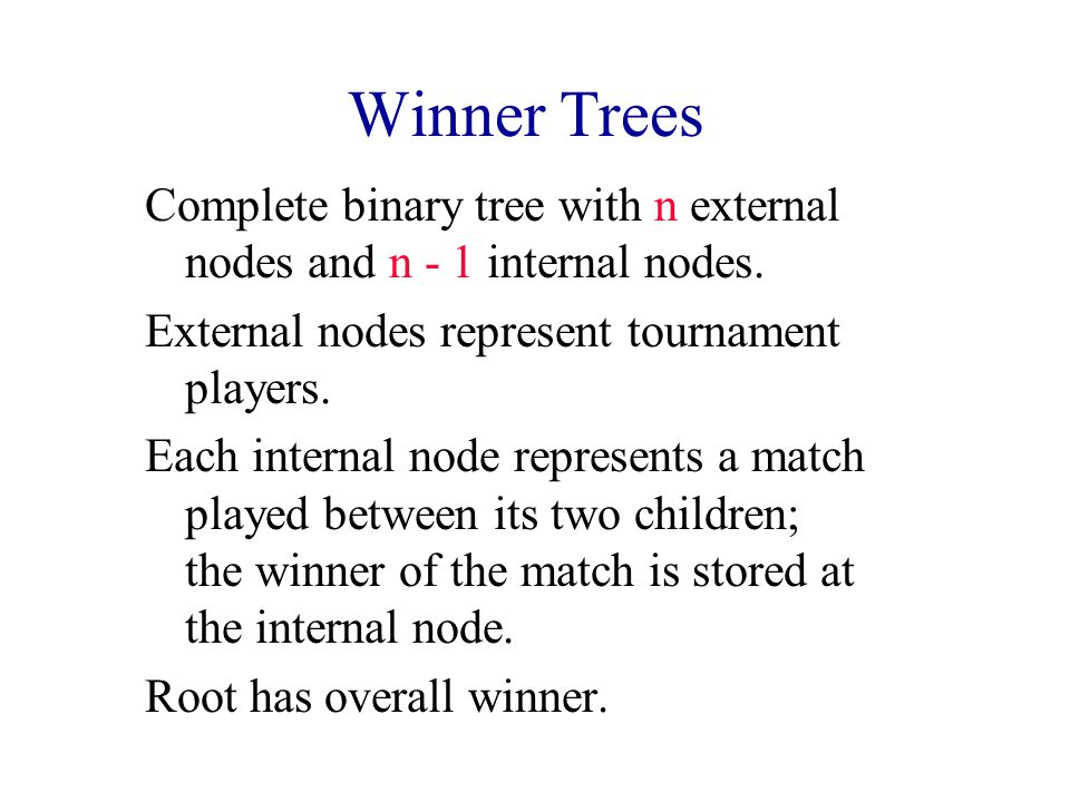 Min Loser Tree For 16 Players 4368157326945258 4 3 8
