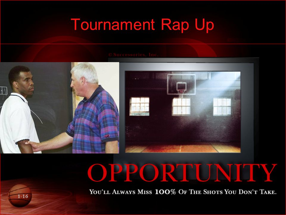 1-16 Tournament Rap Up