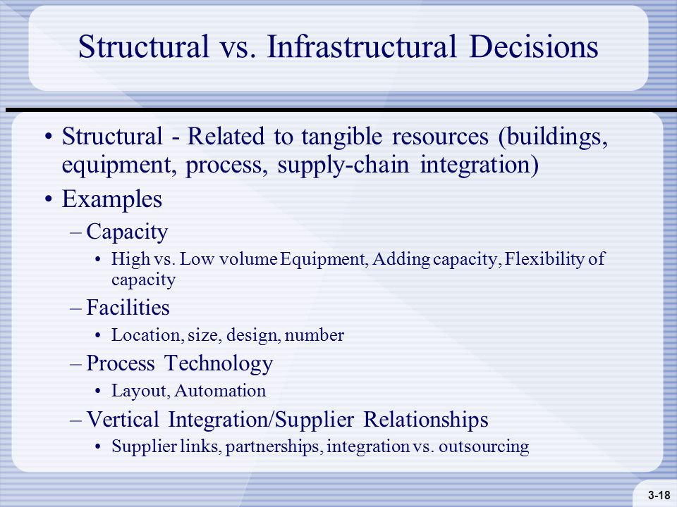 3-18 Structural vs.