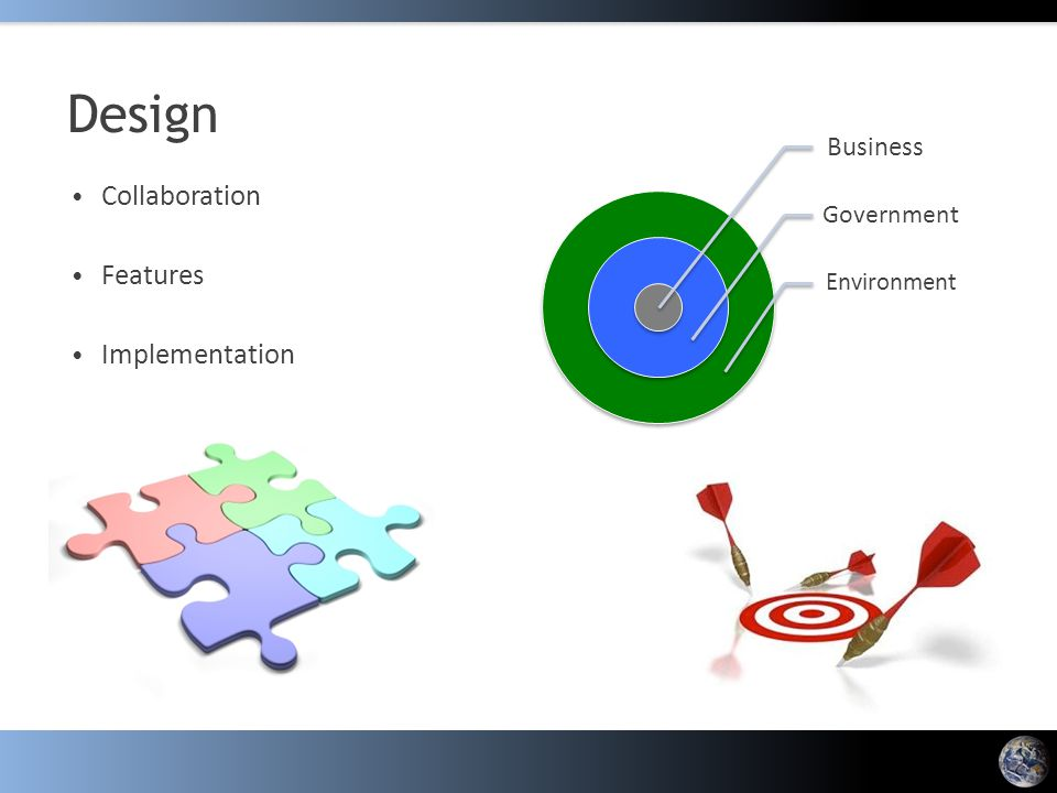 Design Collaboration Features Implementation Business Government Environment
