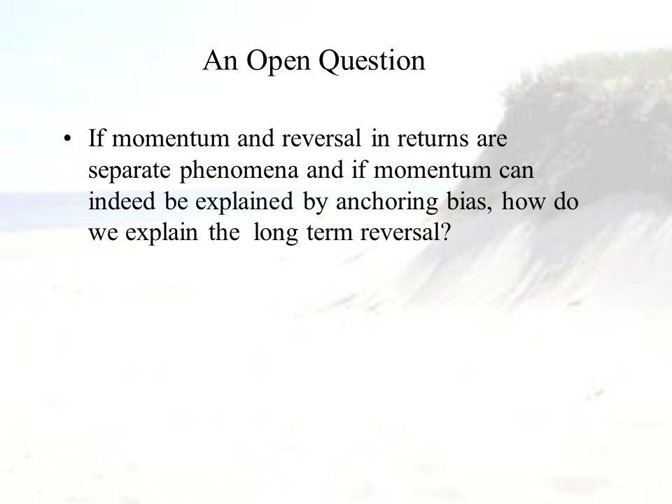 Test of Overreaction Hypothesis : TR vs. FYH