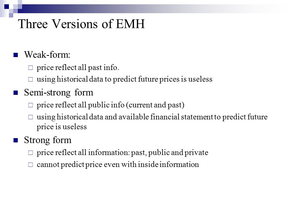 Lucky event Read WSJ, some investors outperform others, is this evidence against EMH.