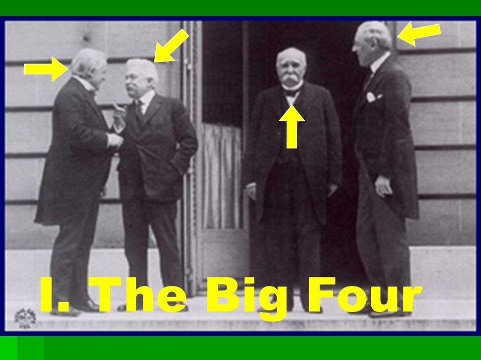 I. The Big Four