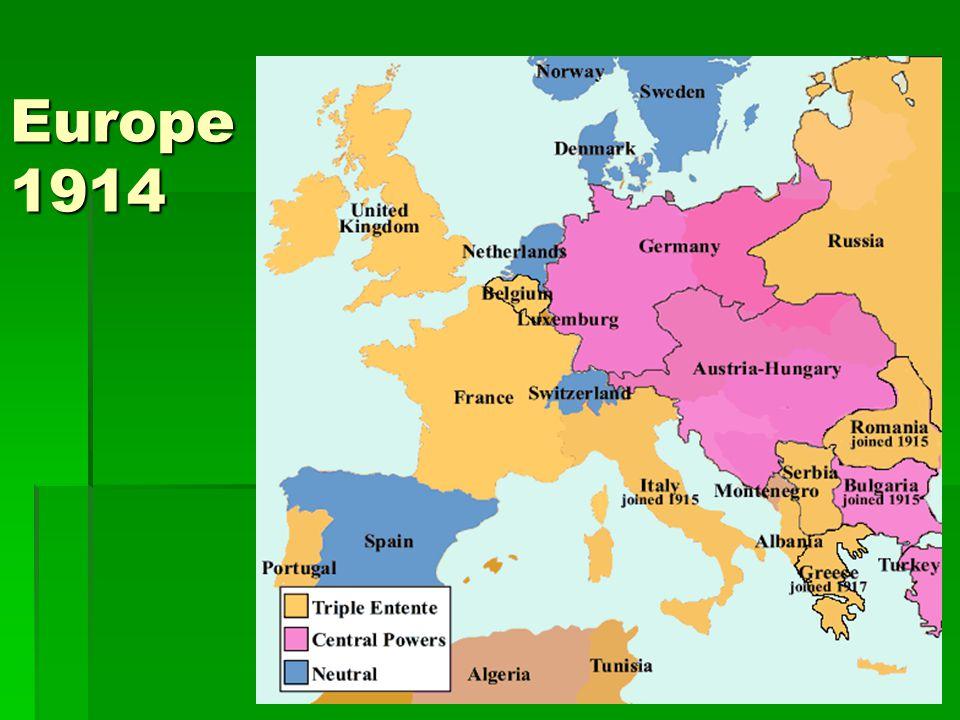 Europe 1914