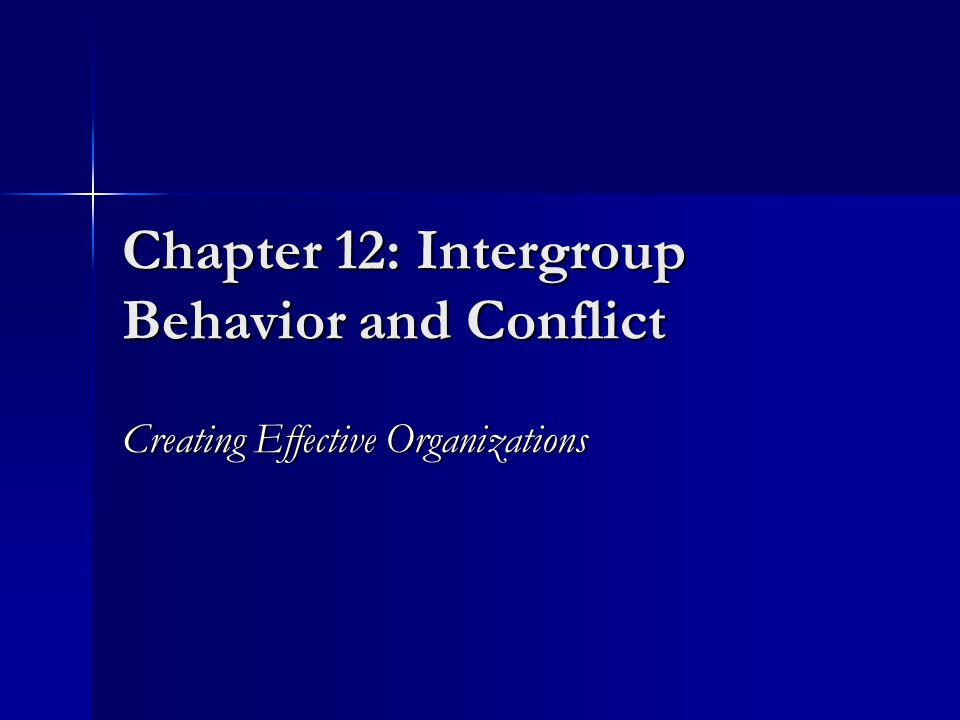 Relationship Between Level of Conflict and Organizational Outcomes Low Negative Positive High LEVEL OF CONFLICT ORGANIZATIONAL OUTCOMES