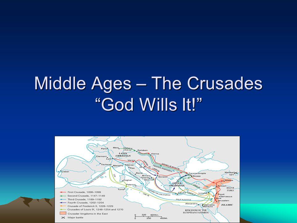 Last 6 Crusades –Little or no success.–Children's crusade.
