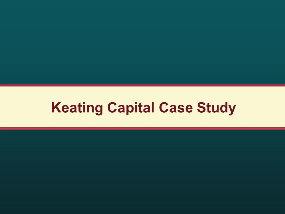 Keating Capital Case Study