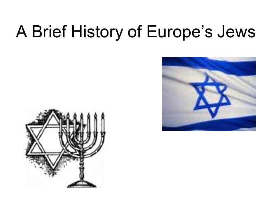 Hebrews are a Semitic (non- European)People