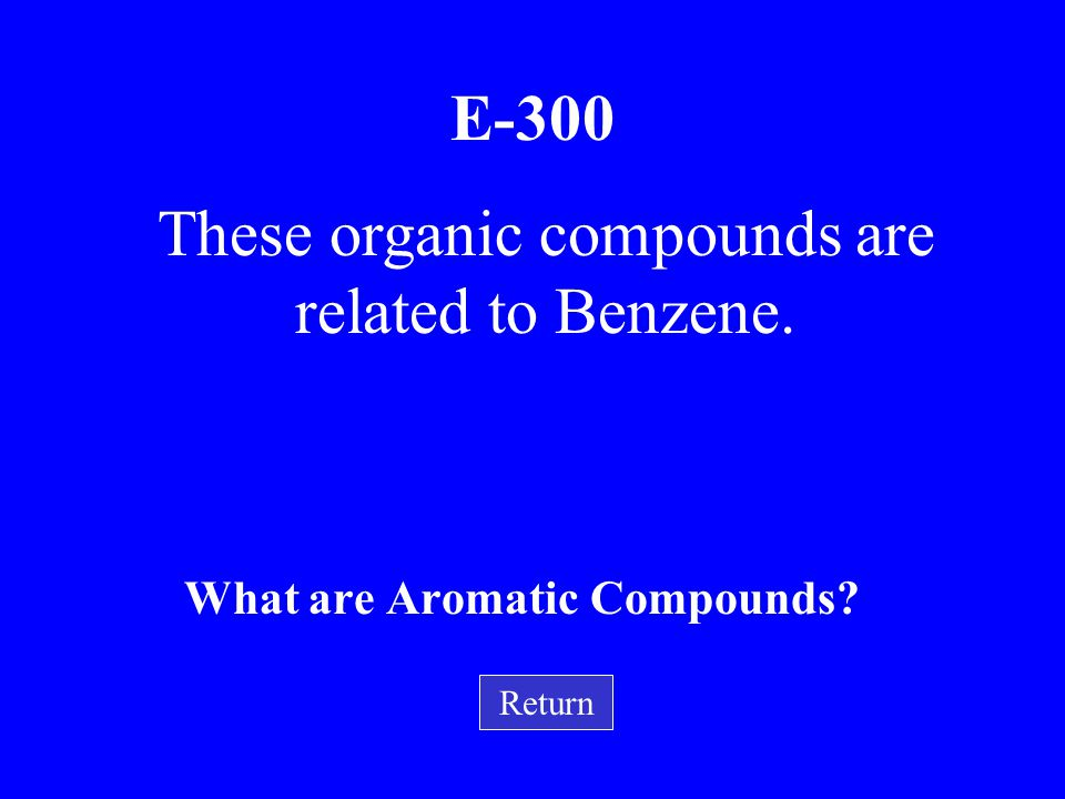 E-200 What is cyclopropane? Return This compound (shown below) has a triangular shape.