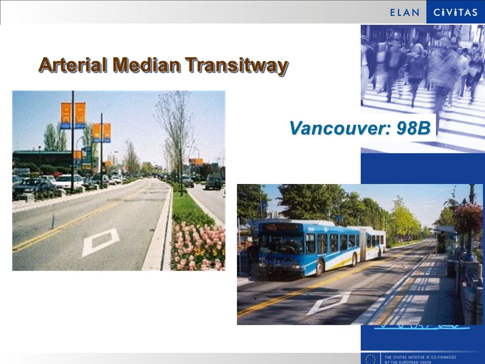 Arterial Median Transitway Vancouver: 98B