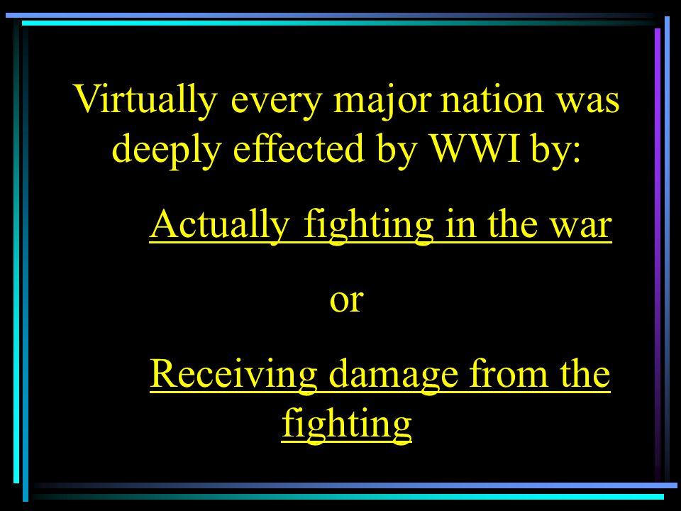 1 st Mechanized War