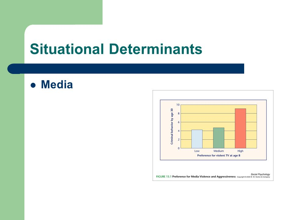 Situational Determinants Media