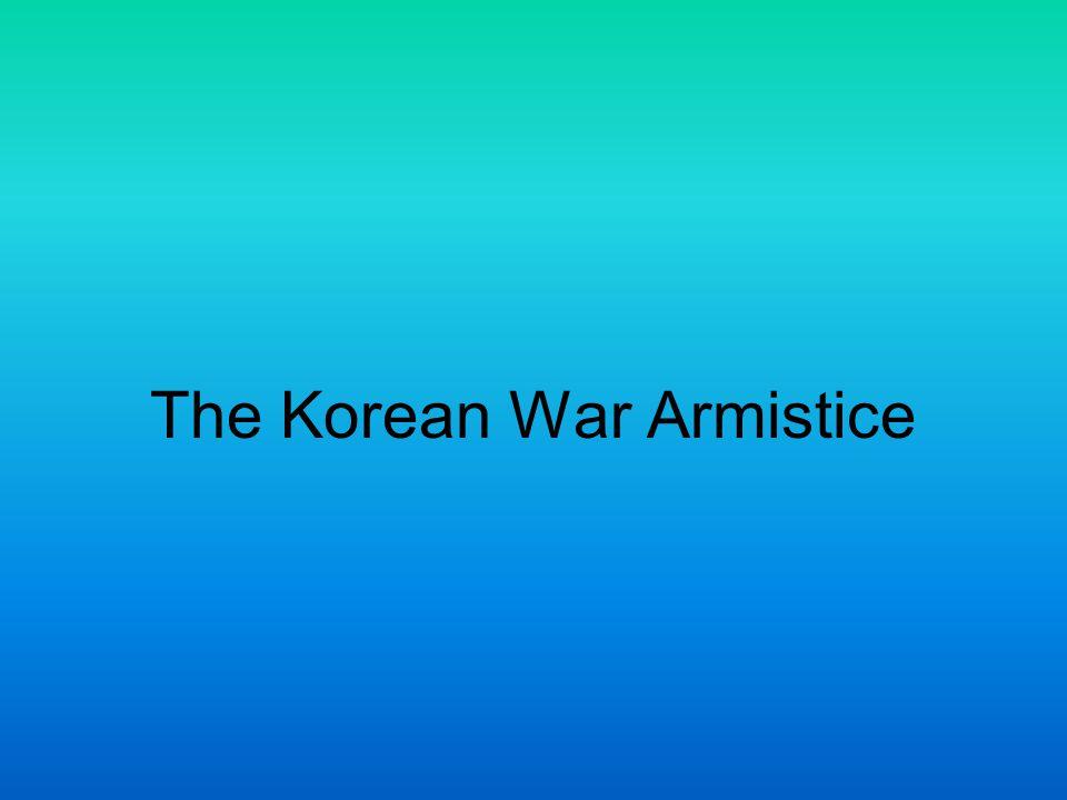The Korean War Armistice
