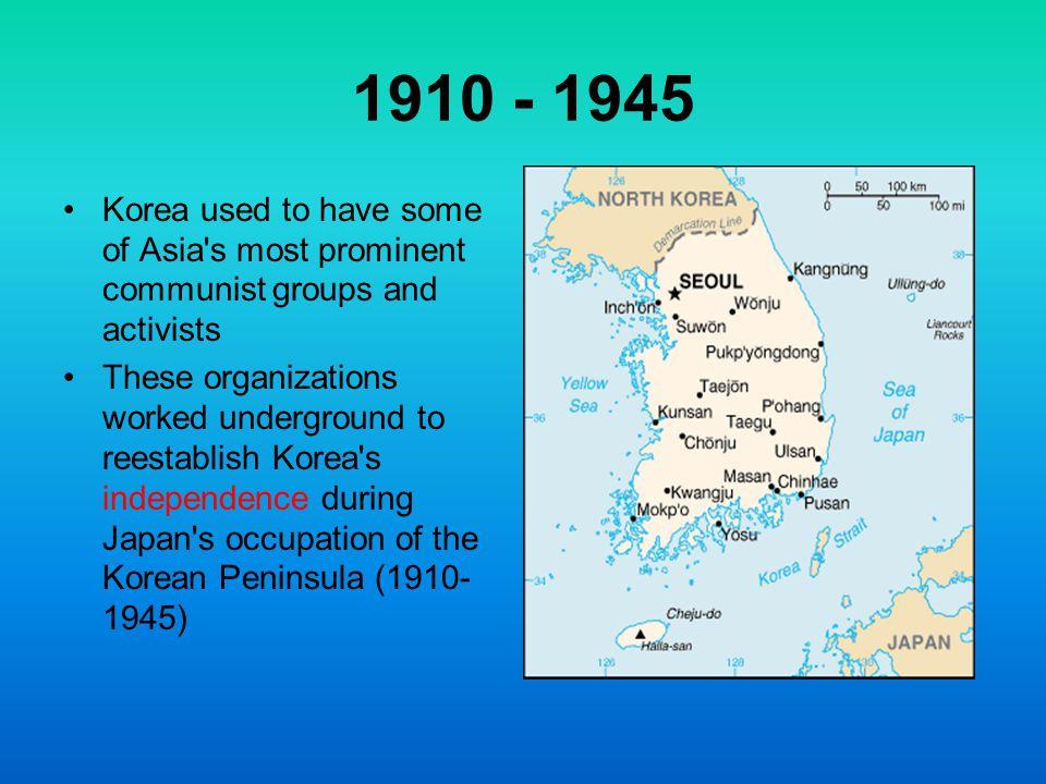 Map of Korea