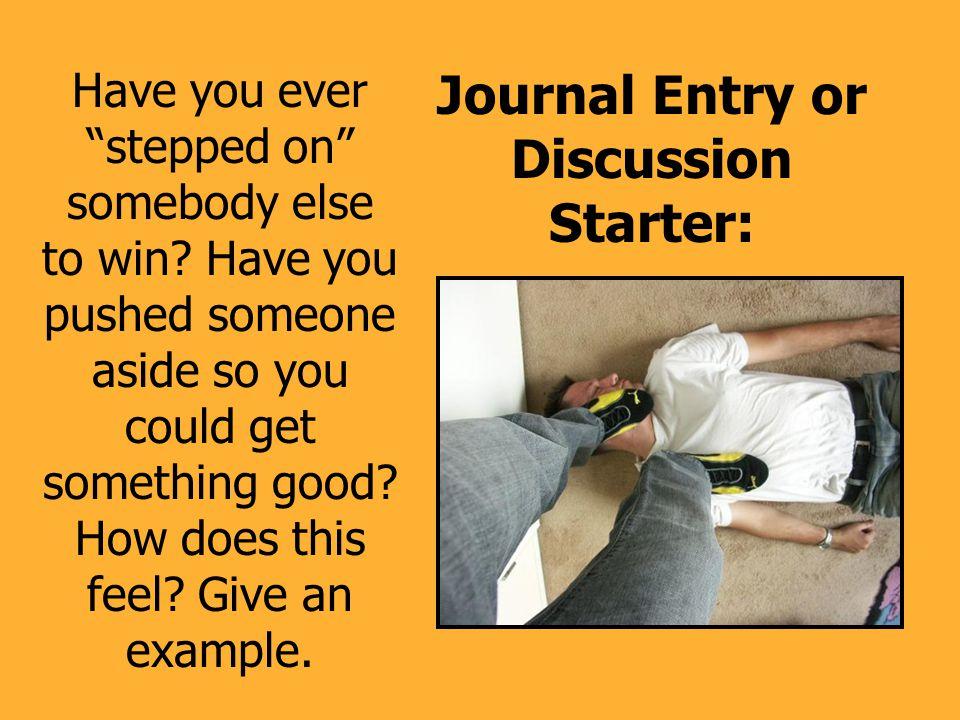 Human Doormat: Do you always let other people win.