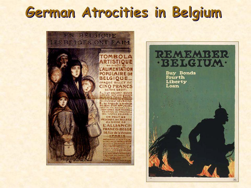 German Atrocities in Belgium