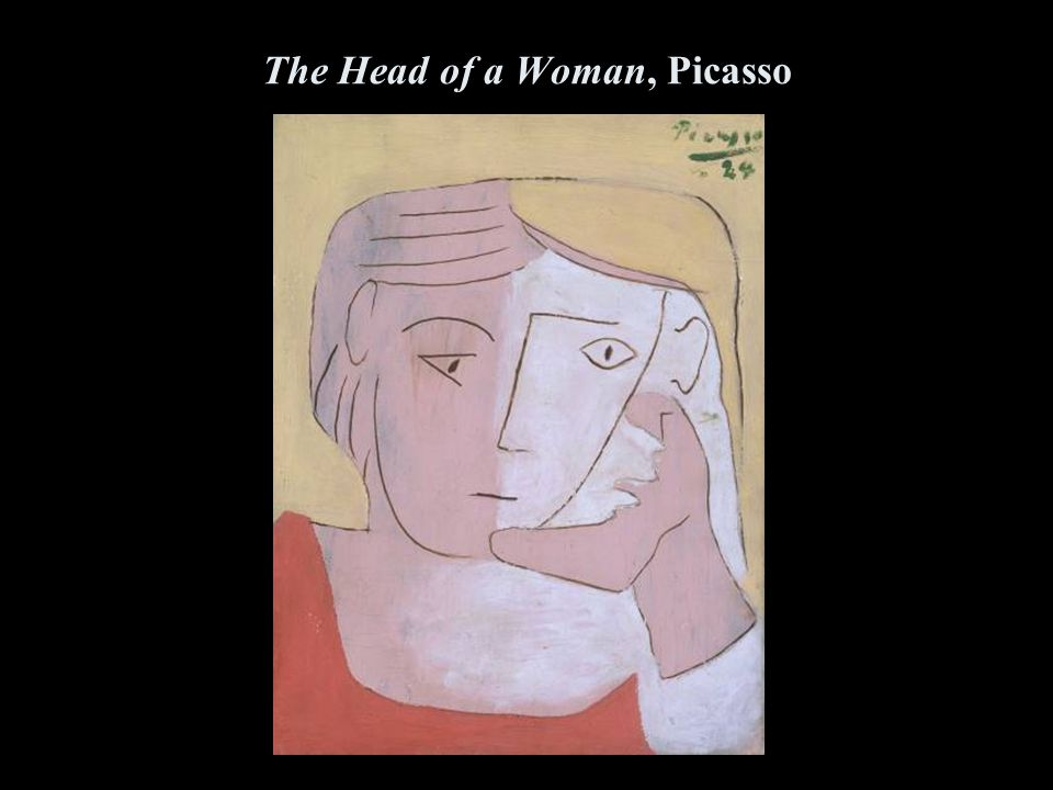 The Head of a Woman, Picasso