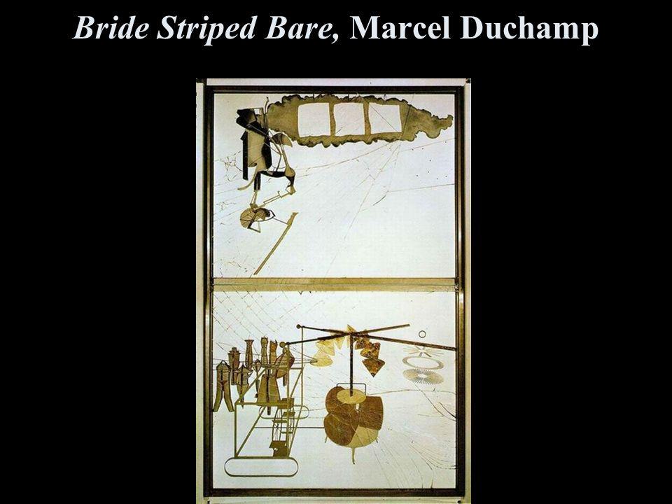 Bride Striped Bare, Marcel Duchamp