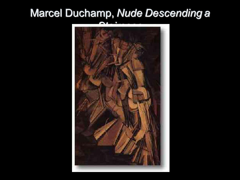Marcel Duchamp, Nude Descending a Staircase