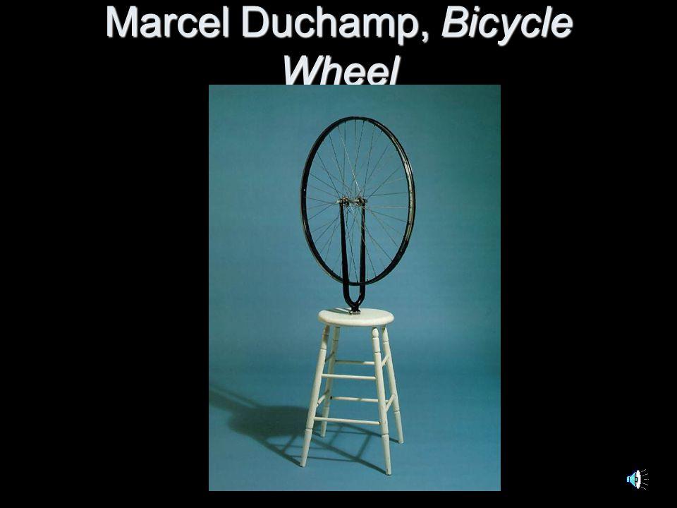 Marcel Duchamp, Bicycle Wheel