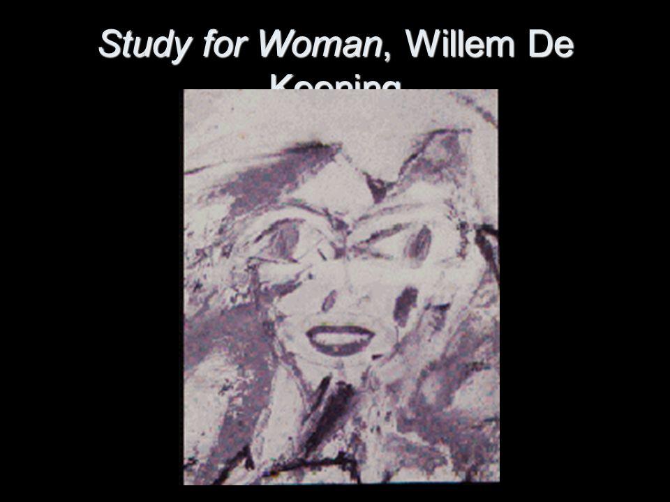 Study for Woman, Willem De Kooning