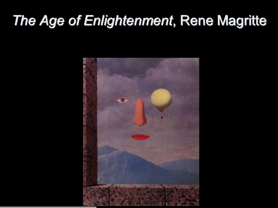 The Age of Enlightenment, Rene Magritte