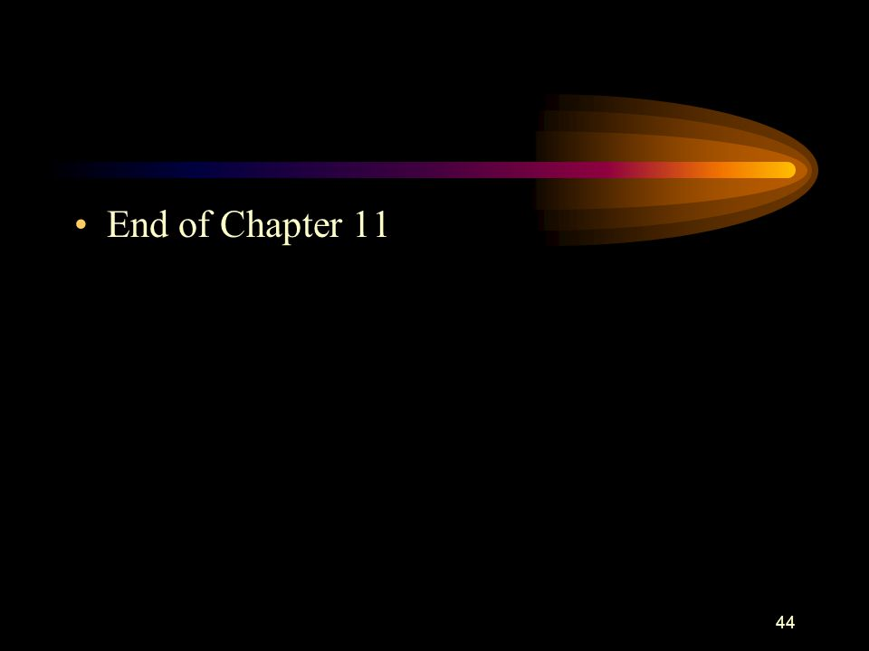 44 End of Chapter 11