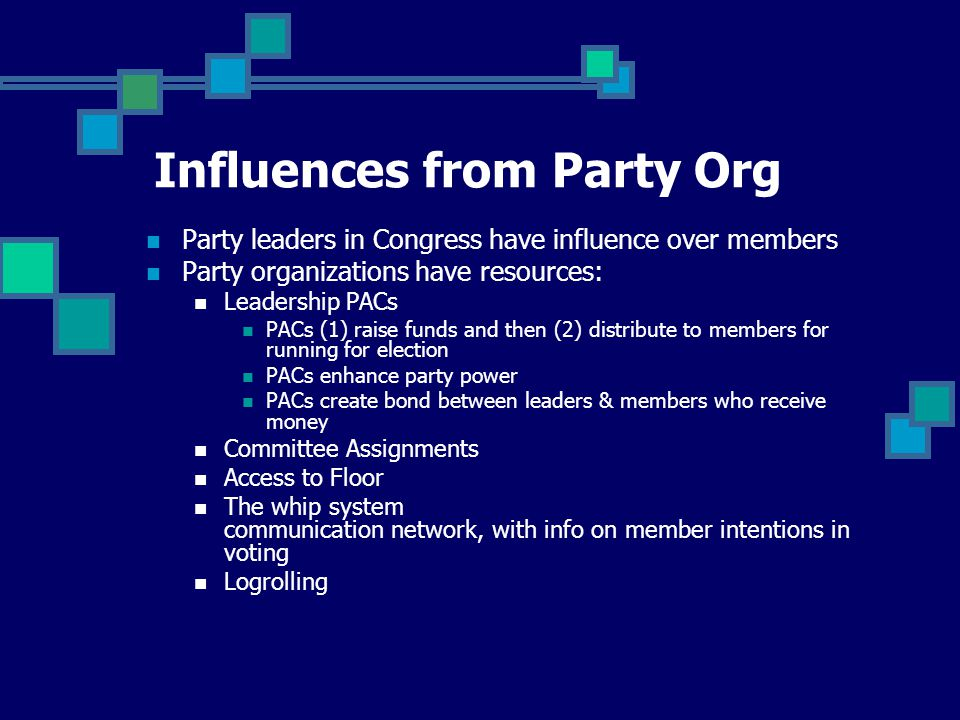 """Mobilize followers in a member's congressional districts """"Astroturf lobbying"""" Provide information Influences from Interest Groups"""