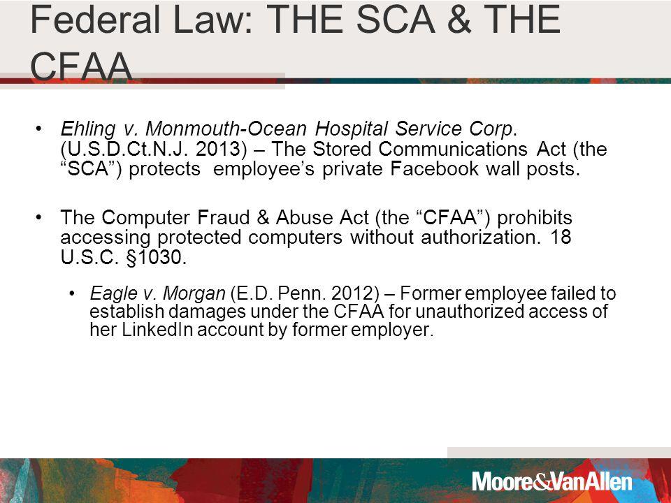Ehling v. Monmouth-Ocean Hospital Service Corp. (U.S.D.Ct.N.J.